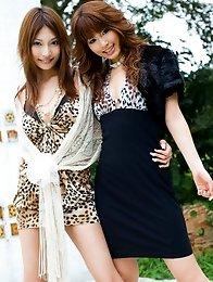 Asuka Kirara Asian and sexy cupcake are very naughty and daring