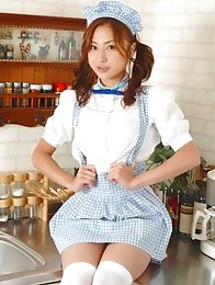 Kazumi Yukiya Asian poses so sexy no matter what she wears