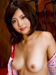 Kozue Sakashita shows such hot boobies and slit with hair cut