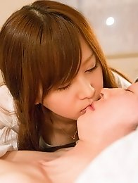 Sexy and beautiful Japanese av idol Yukino Kawai shows her perfect fit body and have sex