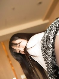 Sexy and sweet Japanese av idol Tomomi Motozawa shows her naked body as your girlfriend