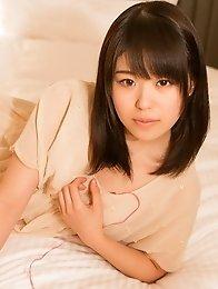 Lovely and new Japanese av idol Tsugumi Muto shows her new and fresh naked body
