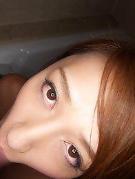 Beautiful and sexy Japanese av idol Kotomi Saeki has sex with her boyfriend