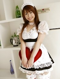 Sexy and big tits japan maid Ai Sayama