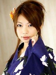 Sexy japan girl Hino Hikari in lingerie