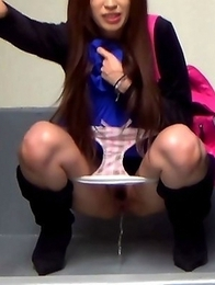 Japanese Piss Fetish Videos - Asian Girls Pissing - Piddle Here, Puddle There 7