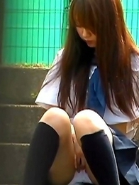 Japanese Piss Fetish Videos - Asian Girls Pissing - Hard Nipples and Wet Panties