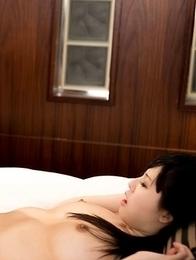 Kisaki Aya and Yokoyama Natsuki enjoy lesbian foot fetish action on a bed