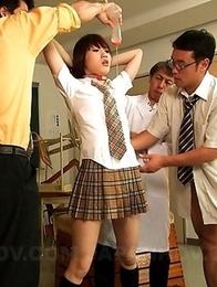 Ageha Kinoshita in a hot foursome