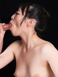 Yuka Shirayuki Strokes with Cum