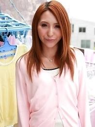 Hot Nana Sakura with brown nipples is fucked
