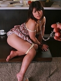 Alice Mizuno stripping seductively