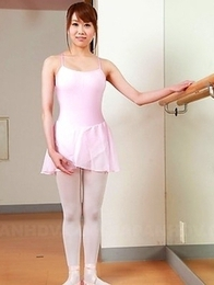 Hot Ririka Suzuki with a bushy twat
