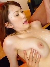 Yui Takashiro gets a few cum loads
