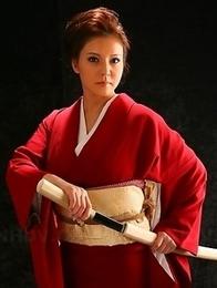 Red-head Yuki Tsukamoto poses
