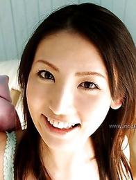Nude photoshoot starring a kinky Asian Takako Kitahara
