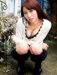 Feel the strong wish to fuck Miyuki Posing into her asshole