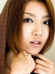 Old-fashioned photoshoot with an oriental girl Kazuki Asou