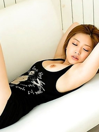 Give Ai Haneda a chance to show you her awesome boobs