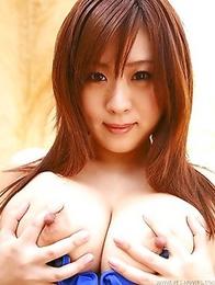 Truly massive tits of an Asian goddess Nana Aoyama