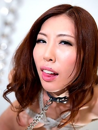 Rin Miura gets tied up and face fucked!