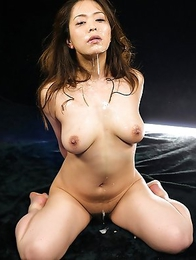 Pornstar Mint Asakura is drunk with anticipation to get her mouth abused and fucked.