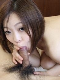 Uncensored Japanese fucking with beautiful Riko Masaki riding her partners cock cowgirl