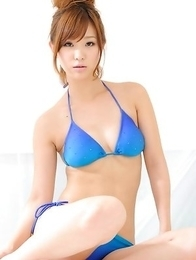 Ichika Nishimura will be the hottest nymphet on the beach